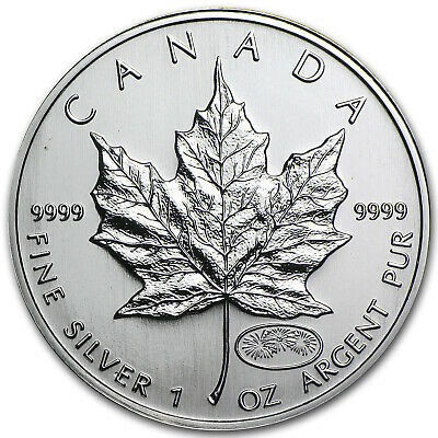 1999/2000 Canada 1 oz Silver Maple Leaf Millennium Privy - SKU #11064