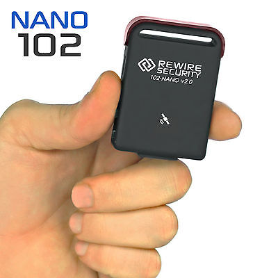 Motorbike GPS Tracker Compact Genuine TK102 NANO Magnetic Car Tracking Device