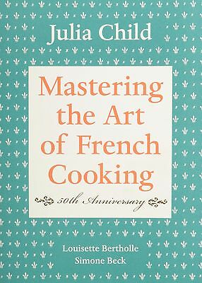 Mastering the Art of French Cooking,50th Anniversary Edition by Julia(Hardcover)