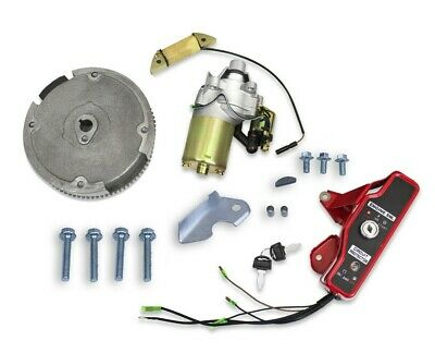 Gx160 Gx200 Electric Start Kit Starter Motor Ignition Switch For Honda