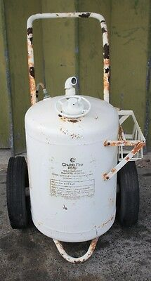 Pressure Wheeled Fire Extinguisher Chubb  Model SF-90  Foam AO-90 Litres*Empty*