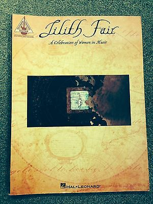 Lilith Fair - A Celebration of Women in Music - Guitar Song Book w/ Tablature