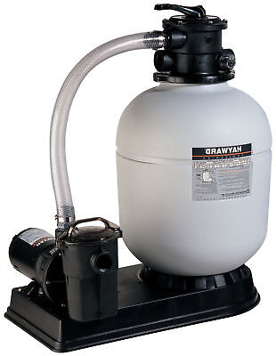 Hayward S180T92S Pro Series Top-Mount Sand Filter with 1HP Pool Pump