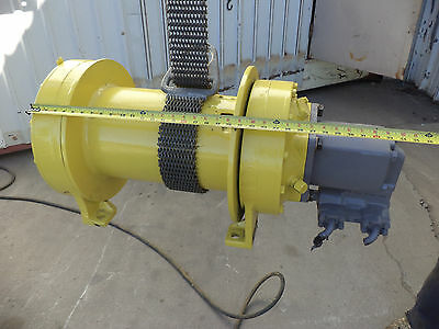 KOEHRING Planetary Hydraulic Winch (GOOD CONDITION)