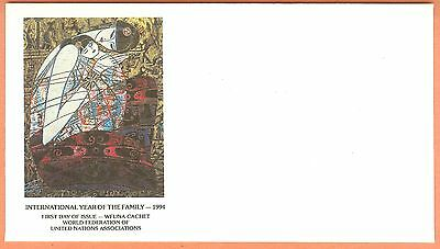 Ting Shao Kuang Limited Ed United Nations Wfuna Art Cachet Scarce Unserviced
