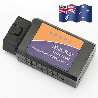 2016 ELM327 OBD2 ODBII Bluetooth CAN BUS Scanner Car for TORQUE ANDROID PC