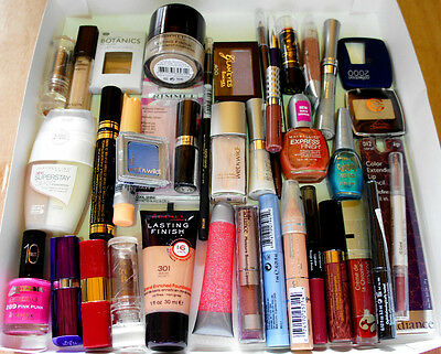 24 Wholesale Joblot Makeup Items Revlon Bari CK Nail Varnish Foundation Make Up
