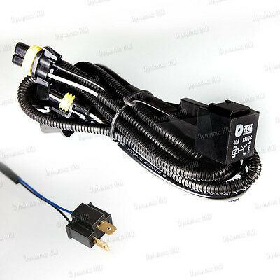 Relay Wiring Harness w/ Fuse for HID Xenon Kit Size - H4 / 9003 HB2 (Grp A)