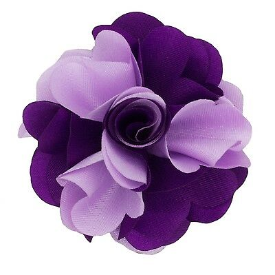 Beautiful Handmade Lapel Flower Pin (130 COLORS!)