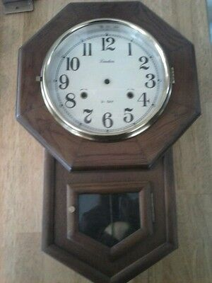 kassel 31 day wind up wall clock parts missing finials
