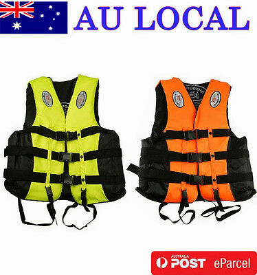 New Design Adult Fishing Vest Life Jacket Adjustable Cross-belt AU Local Postage