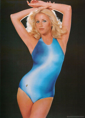 Poster :tv/movie Actress: Suzanne Somers - Blue - Free Shipping  #14-573  Rc19 P