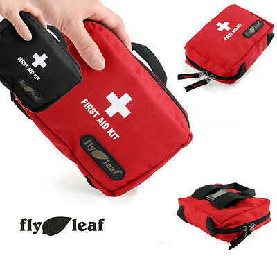 Empty Home Workplace Travel Sport Medical First Aid Bag w/Compartments-17 x 12cm