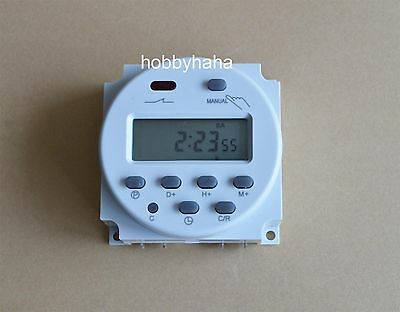 DC12V CN101A  LCD Digtal display prorammable timer 16A  12V