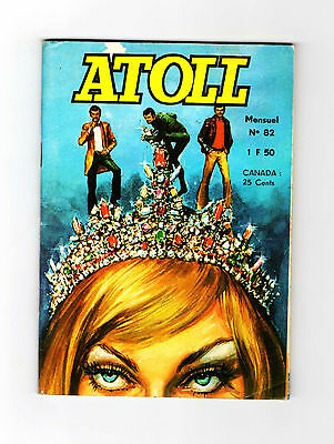 Atoll N°82 - Colonel X Traque - 1973 - Tbe