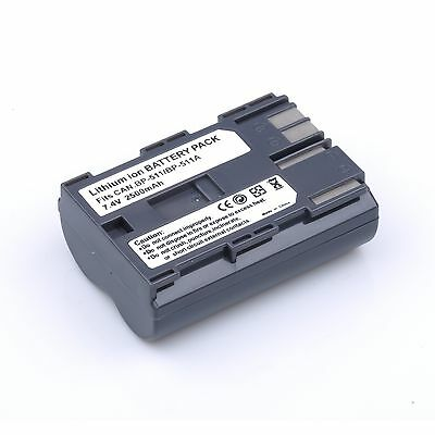 BP-511 BP511A Rechargeable Battery for Canon EOS 40D 300D 5D 20D 30D 50D 2500mAh