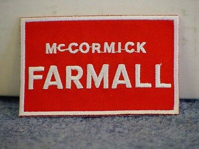 (2) INTERNATIONAL HARVESTER - McCORMICK FARMALL PATCHES