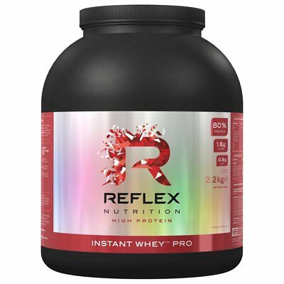 Reflex Nutrition Instant Whey Pro 2.2kg 5lb Isolate Lean Muscle Growth Protein