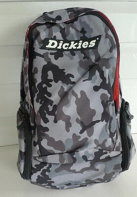 Dickies - Martial  Backpack 3 - Grey Camo  -  NWT