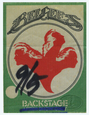 BEE GEES 1979 Spirits Having Flown Tour Backstage Pass Pittsburgh Arena