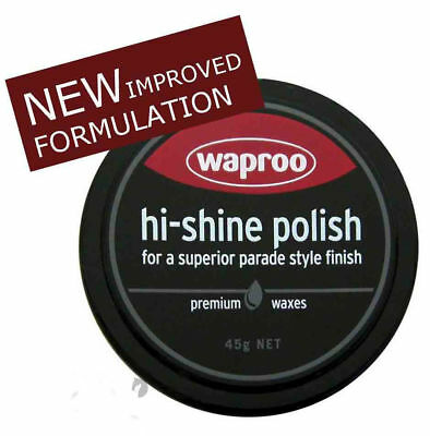 Joseph Lyddy HI SHINE Boot Polish 45g Black for shoes Boots Ridiing Boots