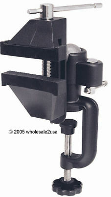 Heavy Duty Swivel Vise Table Clamp-On Jewelers Tool -Bk 96411Uv