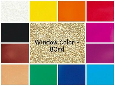 Window Color WACO Glasmalfarbe 80ml ~ Fensterfarben (1,88€/100ml)