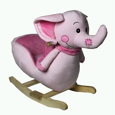 FoxHunter Animal Rocker Baby Kids Rocking Infant Children Toy Toddler Elephant