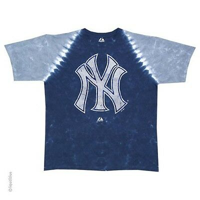6db243315 NEW YORK YANKEES NEW Tie Dye PLEATED T-Shirt MLB Licensed Apparel ...