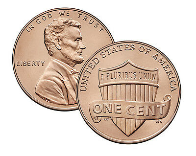 2013 - S Lincoln Shield Cent Proof Deep Cameo in 2x2 Holder