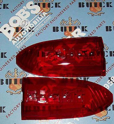 1939 BUICK NEW TRUNK ORNAMENT BUICK EIGHT LENS  + OUR PARTS CATALOG