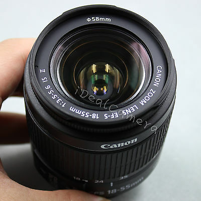 ***Sale*** New Genuine Canon EF-S 18-55mm F/3.5-5.6 IS II Zoom Lens for EOS DSLR