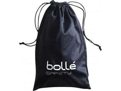 Bolle Microfibre Bag Pouche Safety Prescription Glasses Cleaning Cloth