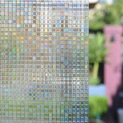 90cm x 1m Static Glueless Reusable Removable Privacy Frosted Window Glass Film