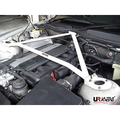 ULTRA RACING RIGID 3-POINT FRONT STRUT TOWER BAR FOR 02-08 BMW E85 Z4 ROADSTER