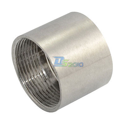 "1-1/2"" Female x  Female Threaded Pipe Fitting Stainless Steel SS304 BSPT NEW"