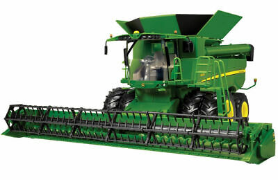 John deere 46070 Big Farm s670 combine toy 1/16 scale/Rotation/Harvester Tractor