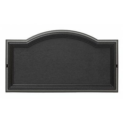 Whitehall Products 12790 Whitehall 9.5-in x 17-in Black Elite Arch