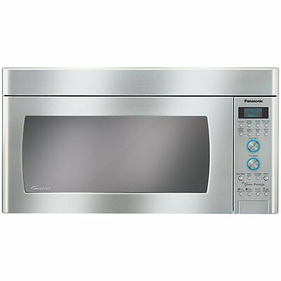 Panasonic NNSD291S 2 cubic ft Over-the-Range Microwave (Stainless-Steel)