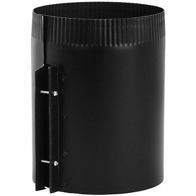 Imperial Manufacturing Group BM0034 IMPERIAL 6-in x 8-in Black Matte Stove Pipe