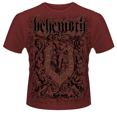 Behemoth 'Furor Divinus (Maroon)' T-Shirt - NEW & OFFICIAL!