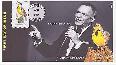 Jvc Cachets - 2014 Songbirds First Day Covers Fdc Topical Music Frank Sanatra