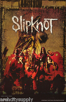 Poster : Music: Slipknot - Red Robes  -  Free Shipping !  #513  Rp65 W