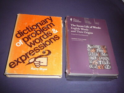 Teaching Co Great Courses  CDs          THE SECRET LIFE OF WORDS    new + BONUS