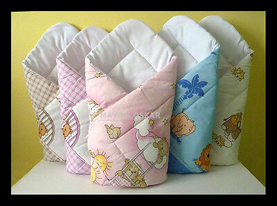 Newborn Baby Swaddle Blanket Wrap Duvet Sleeping Bag Horn Rozek Becik Bedding