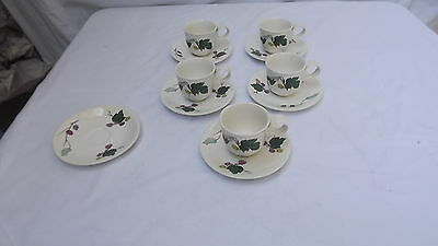 Eva Zeisel for Hallcraft MULBERRY Pattern China - Demitasse Cup Saucer 5 Avail