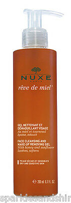Nuxe Reve De Miel Face Cleansing & Make Up Removing Gel Facial Wash 200ml