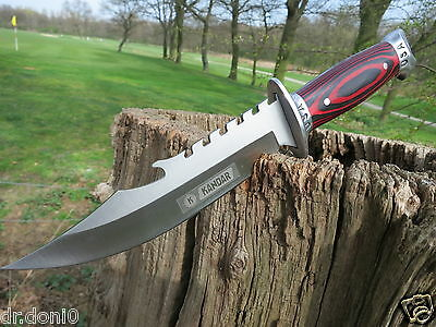 Jagdmesser Messer Knife Bowie Coltello Cuchillo Couteau Kandar Hunting USA