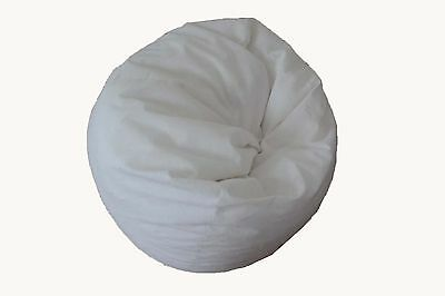 White bean bag Water Resistant Nonwoven Fabric beanbag liner 150 or 200 litre