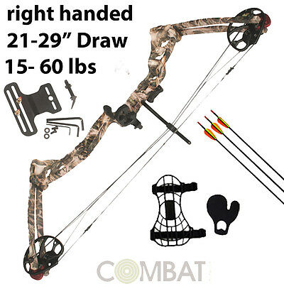 15lbs - 55lbs NEW PRO ATUNGA REX COMPOUND BOW AND ARROW ARCHERY, HUNTING